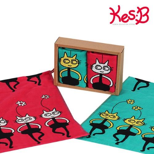 h51 (캐스B)선물 핸드타올(고양이) P34061